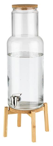 Getränkespender -NORDIC WOOD- 23 x 23 cm, H: 60,5 cm