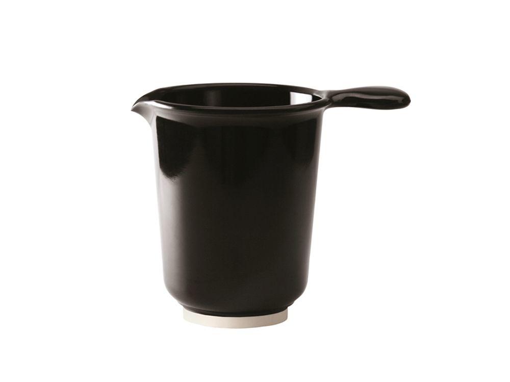 WACA Rührkrug 1200 ml schwarz